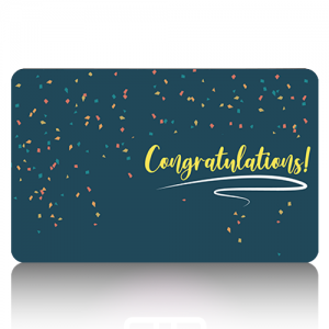 eGift Card Congratulations